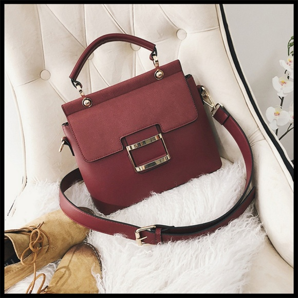 NEW BORDEAUX Tote Crossbody